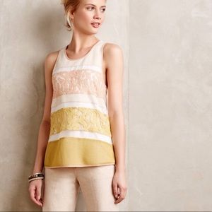 Sunday in Brooklyn | Anthropologie Lace Tank
